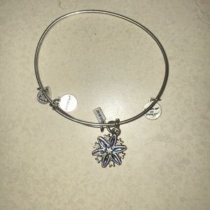 Alex and ani snowflake bracelet